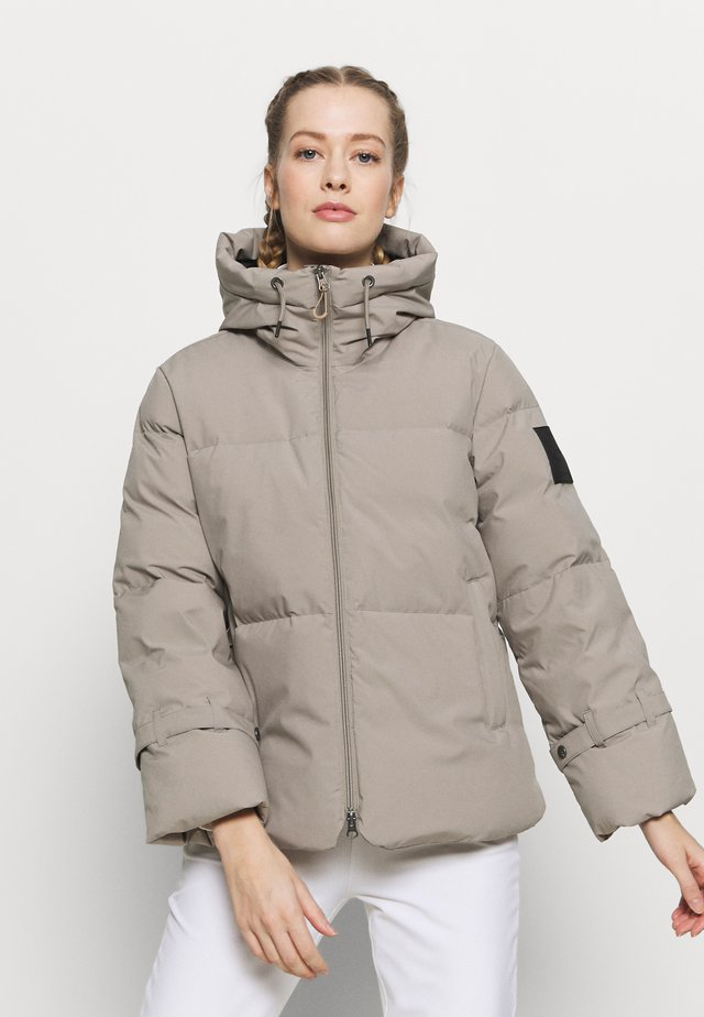 HOODY - Down jacket - dark birch