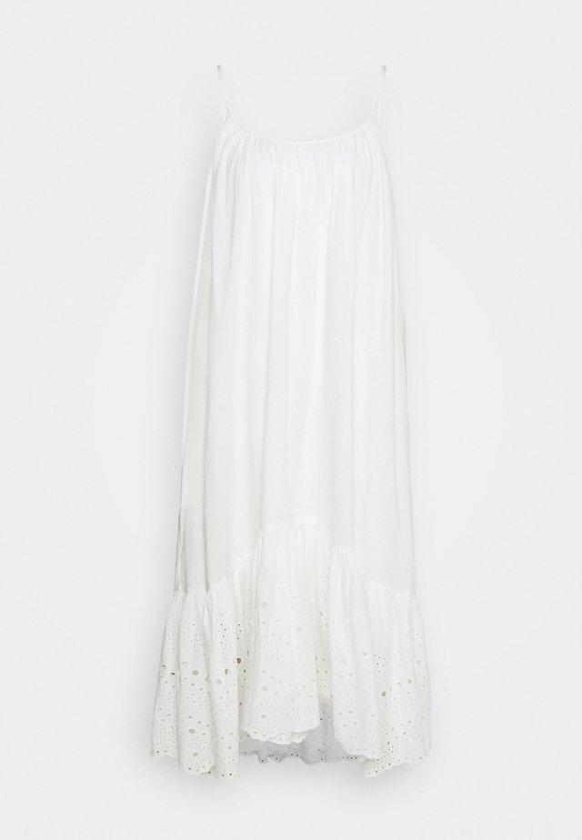 PAOLA DRESS - Vestito estivo - chalk white