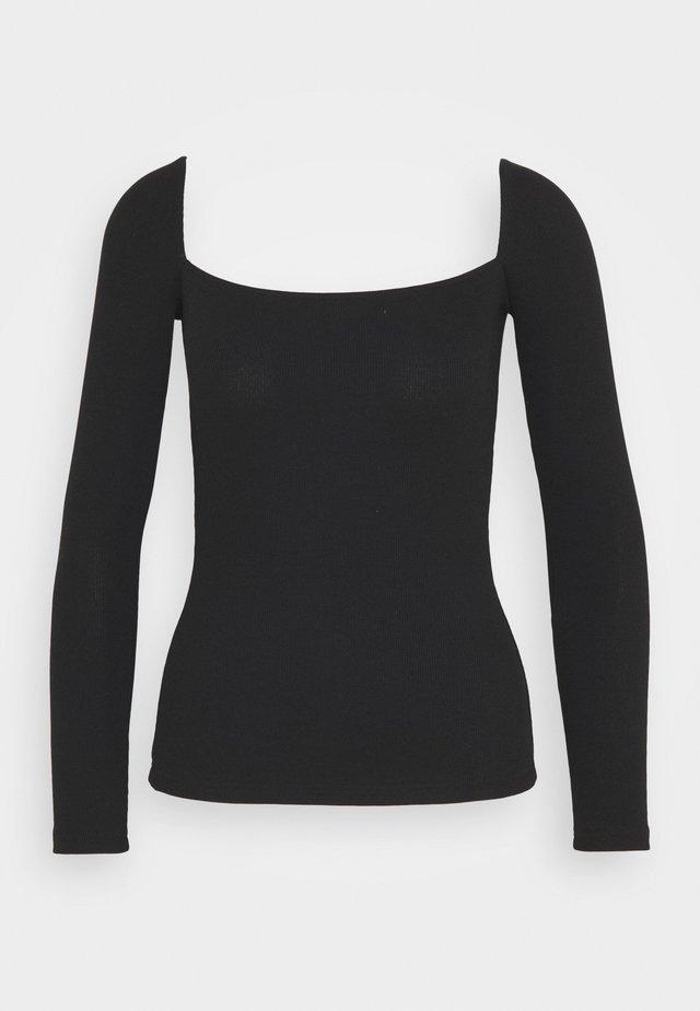 REDEZIGN - Maglietta a manica lunga - black