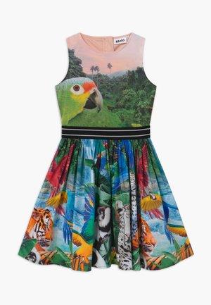 CARLI - Korte jurk - multi-coloured