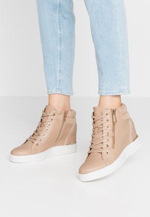 AILANNA - High-top trainers - light pink