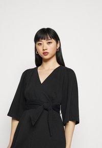 Vero Moda Petite - VMFAYE SHORT DRESS  - Day dress - black - 3