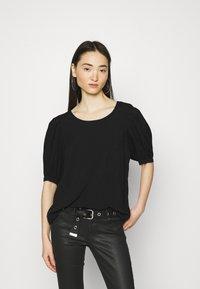 ONLY - ONLKARMA LIFE  SOLID - Basic T-shirt - black - 0