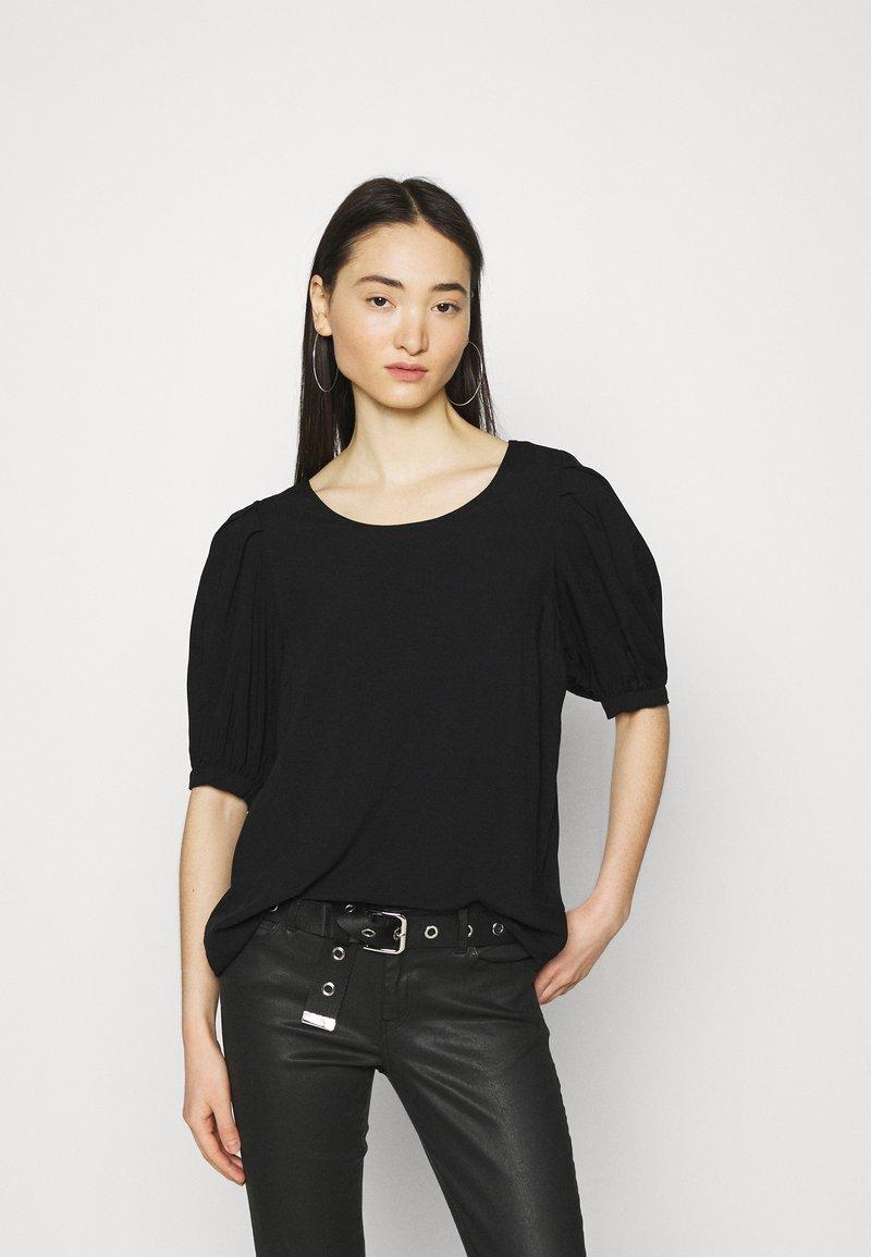 ONLY - ONLKARMA LIFE  SOLID - Basic T-shirt - black