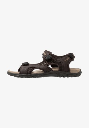 STRADA - Walking sandals - brown/sand