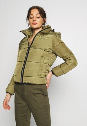 MEEFIC SUNDU OVERSHIRT - Winter jacket - smoke olive