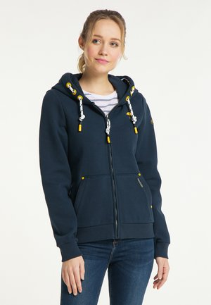 SWEATJACKE - Zip-up hoodie - marine