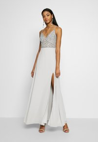 Lace & Beads - MARIELLE  - Occasion wear - light grey - 1