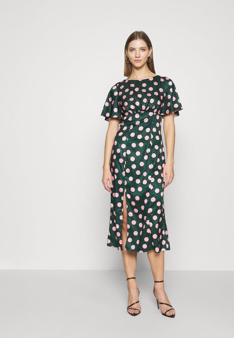 Chi Chi London - COZETTE DRESS - Denní šaty - green