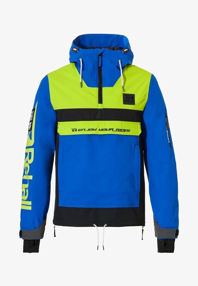 Outdoor jacket - lime green