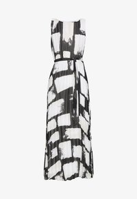 Wallis - SMUDGE COLOURBLOCK PLEATED MAXI - Suknia balowa - black - 4