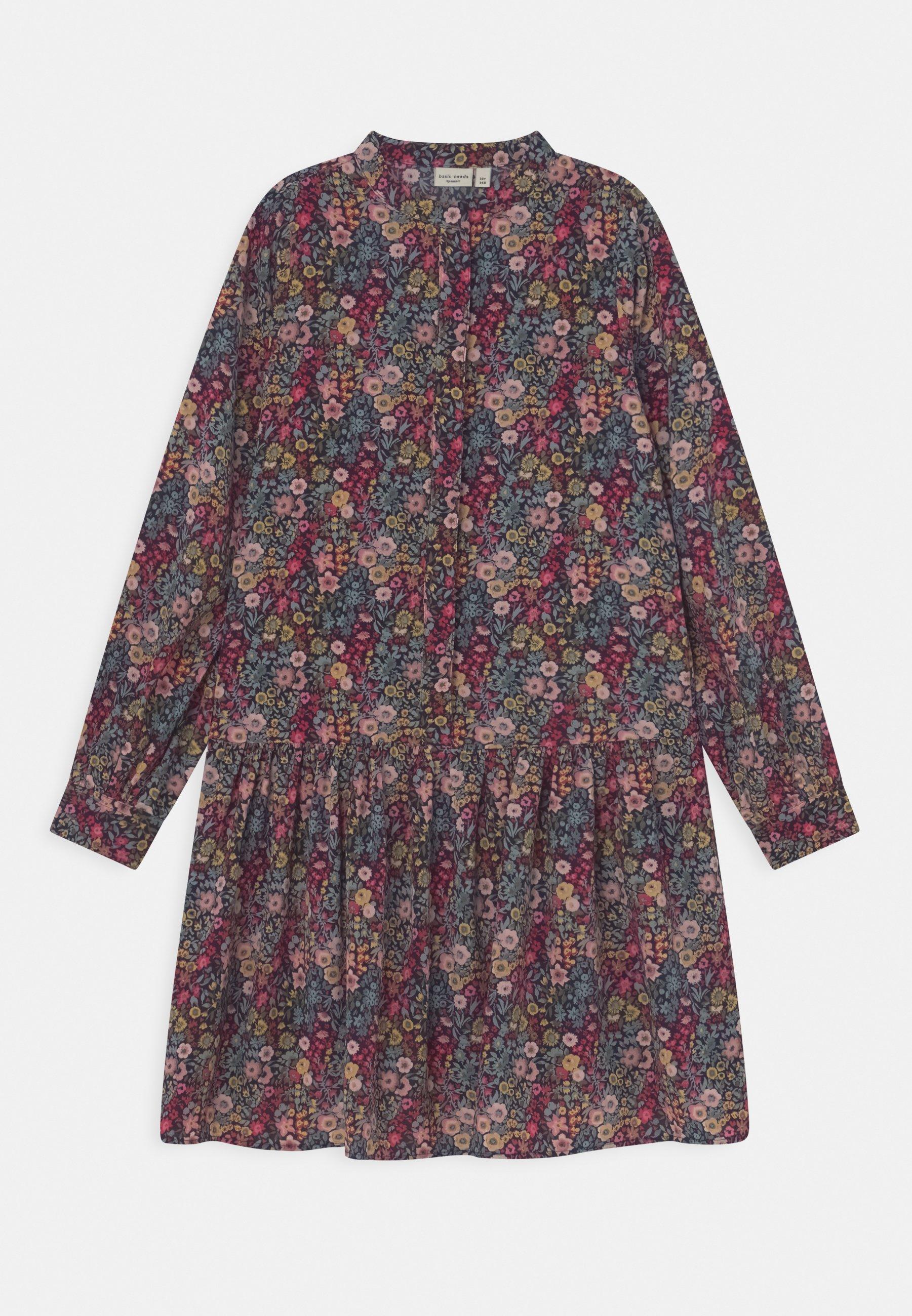 Kinder NKFVINAYA LONG DRESS - Blusenkleid