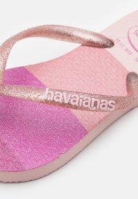 Havaianas - PALETTE GLOW - T-bar sandals - candy pink - 5