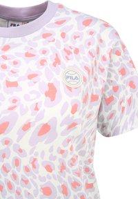 Fila - Print T-shirt - orchid petal leo allover - 4