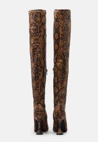 BEBO - HOPPER - High heeled boots - tan - 3