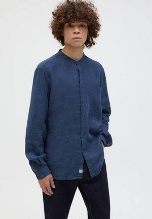 Skjorta - mottled dark blue
