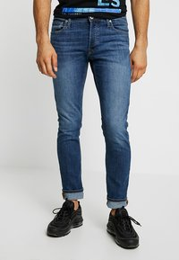 Jack & Jones - JJIGLENN JJORIGINAL - Slim fit -farkut - blue denim - 0