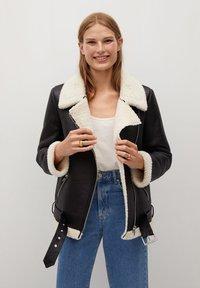Mango - ADRI-I - Light jacket - schwarz - 0