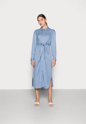 OBI DRESS - Shirt dress - stonewash