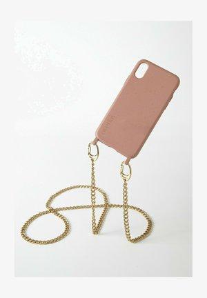 IPHONE 11 - BIOLOGISCH ABBAUBAR - SAND MISTER T. CHAIN GOLD - Phone case - goldfarben