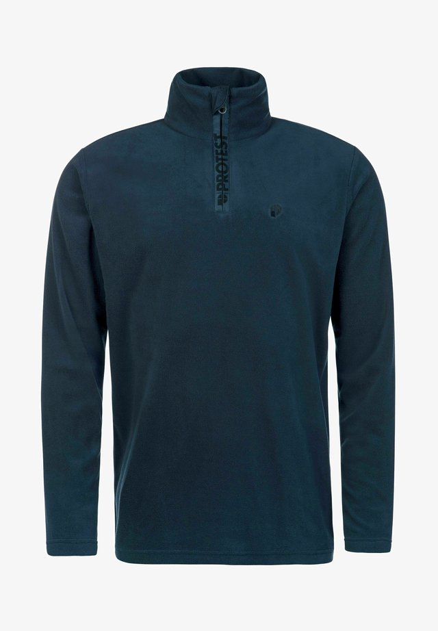 PERFECTY - Fleece jumper - navy blue
