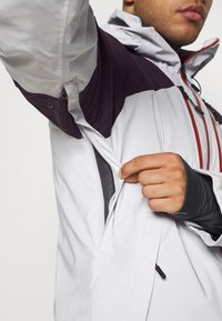 Columbia - WILD CARDJACKET - Snowboard jacket - nimbus grey/dark purple - 4