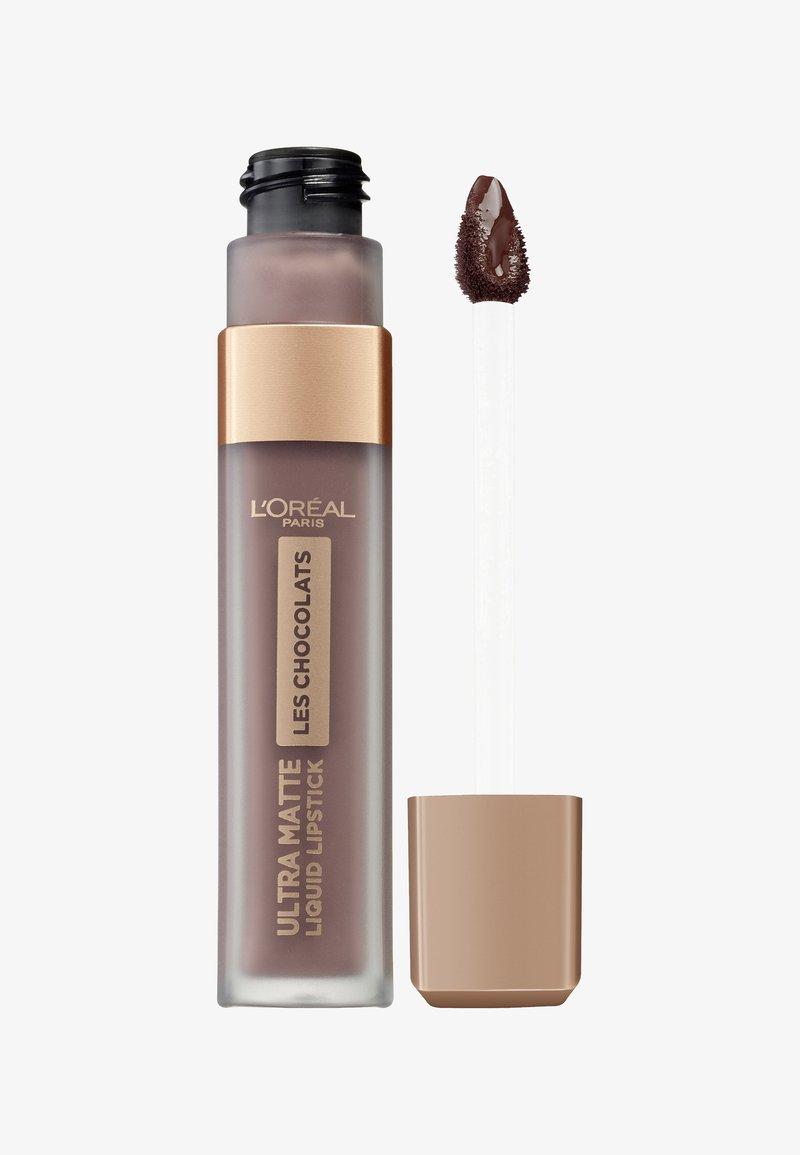L'Oréal Paris - INFAILLIBLE PRO MATTE CHOCOLATES - Liquid lipstick - 858 oh my choc!