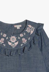 J.CREW - PANSY DRESS - Denimové šaty - indigo - 4
