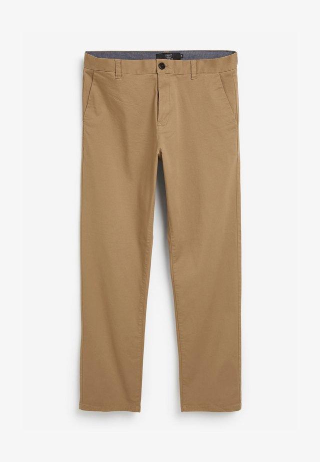 SLIM FIT - Chino kalhoty - camel