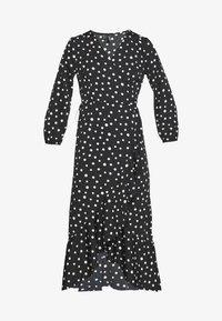 Vero Moda - VMHENNA 7/8 CALF DRESS VIP GA - Day dress - black/white - 6