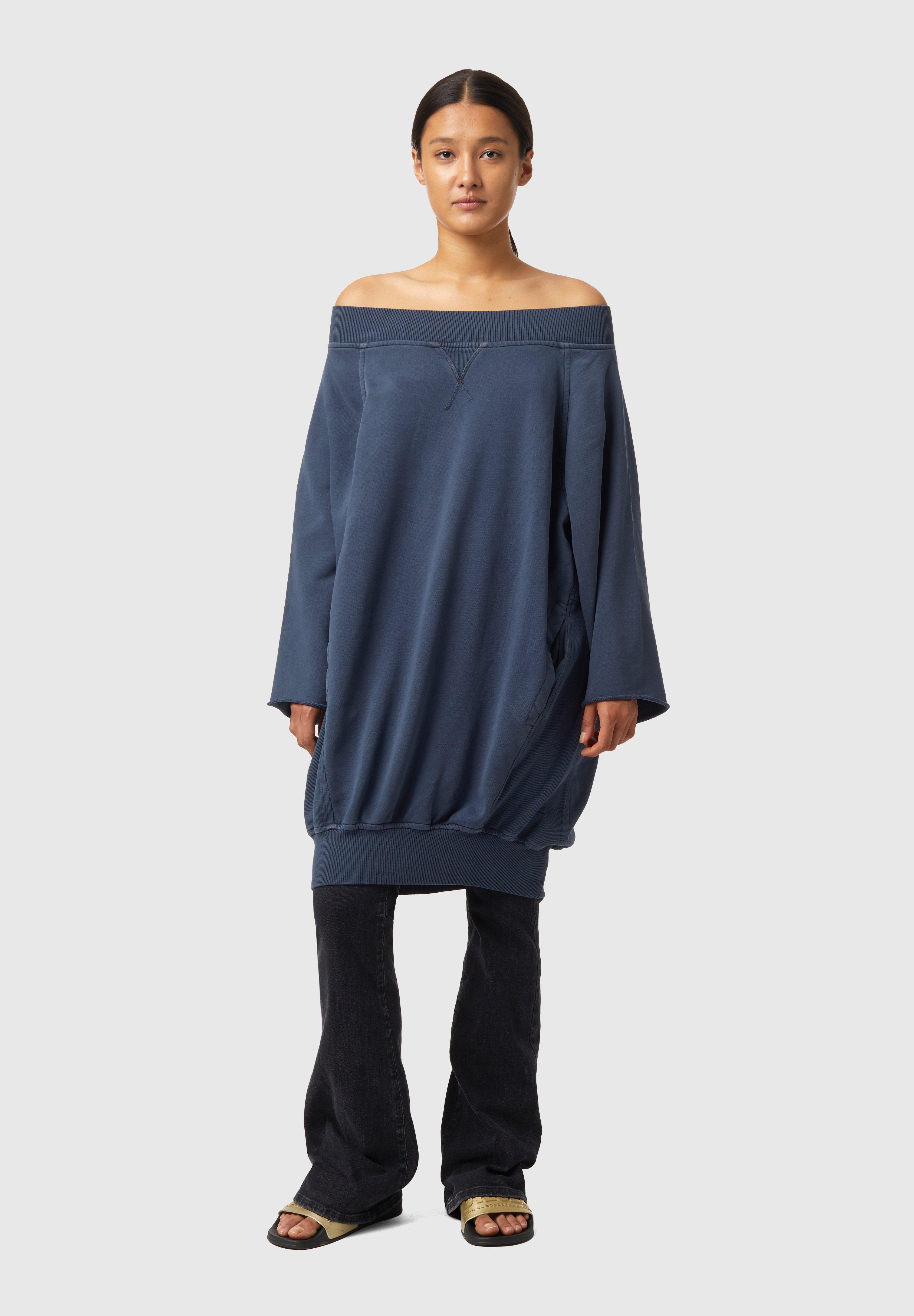 Damen D-AKUOKET-RIB - Jerseykleid