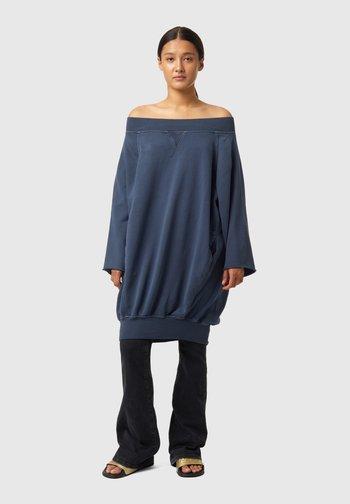 D-AKUOKET-RIB - Jersey dress - blue
