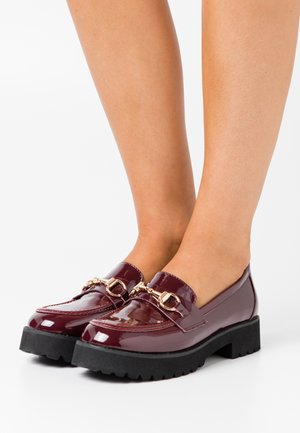 EMPIRE - Mocassins - burgundy