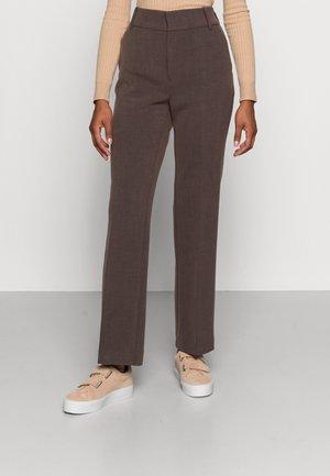 CAYLEE BOOTCUT PANT - Trousers - brown melange