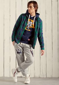 Superdry - Tracksuit bottoms - pumice stone marl - 0