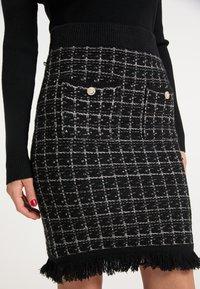 faina - Pouzdrová sukně - schwarz - 3