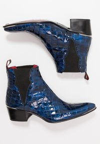 Jeffery West - SYLVIAN - Biker-/cowboynilkkurit - dark blue