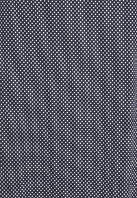 TOM TAILOR - DRESS EASY SHAPE - Jersey dress - navy/white - 2