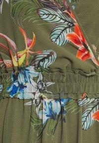More & More - DRESS LONG - Day dress - new khaki/multicolor - 2