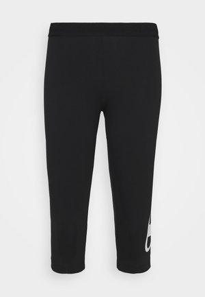 LEGGINGS - 3/4 sports trousers - black