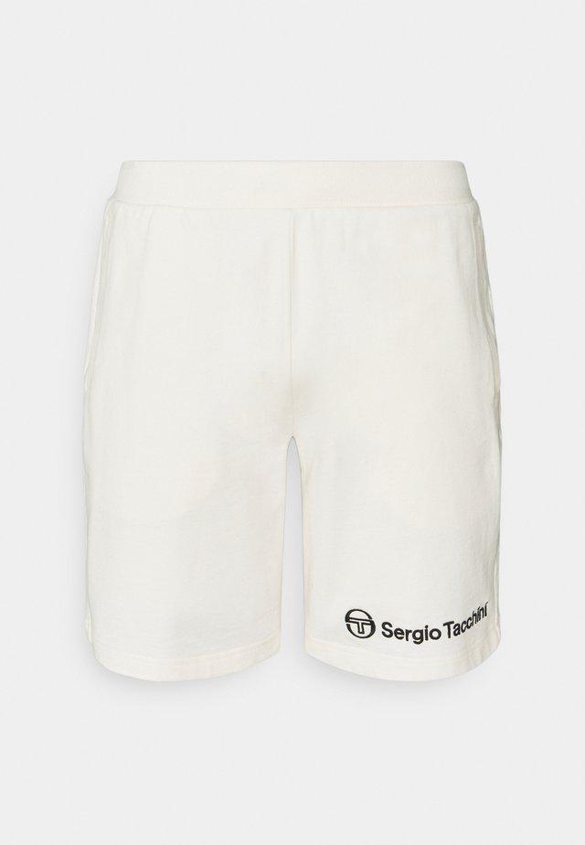 ASIS SHORT - Sports shorts - blanc de blanc