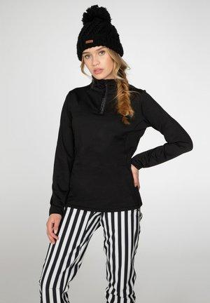 Fleece jumper - true black