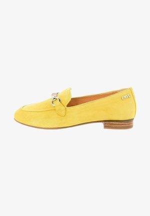 TARNOROZ  - Nazouvací boty - yellow
