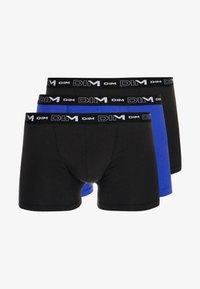 3 PACK - Shorty - black/blue indigo/black