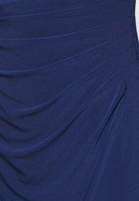 Lauren Ralph Lauren - MID WEIGHT DRESS - Shift dress - twilight royal - 5