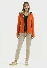camel active - SCUBA - Zip-up hoodie - orange - 1