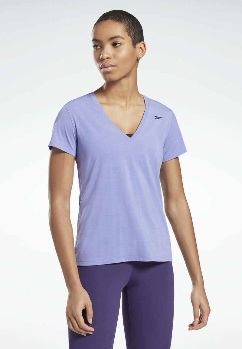 Reebok - ONE SERIES ACTIVCHILL - Print T-shirt - purple