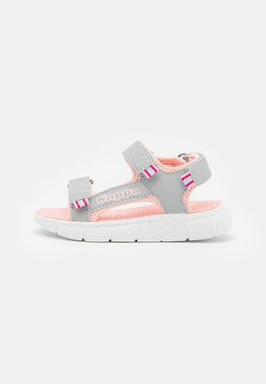 Walking sandals - light grey/rosé