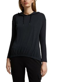 Esprit - FASHION - Long sleeved top - black - 4