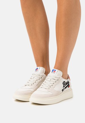 Boss x Russell Athletic AMBER  - Trainers - open white